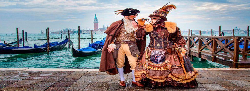 Como es Venecia en carnavales