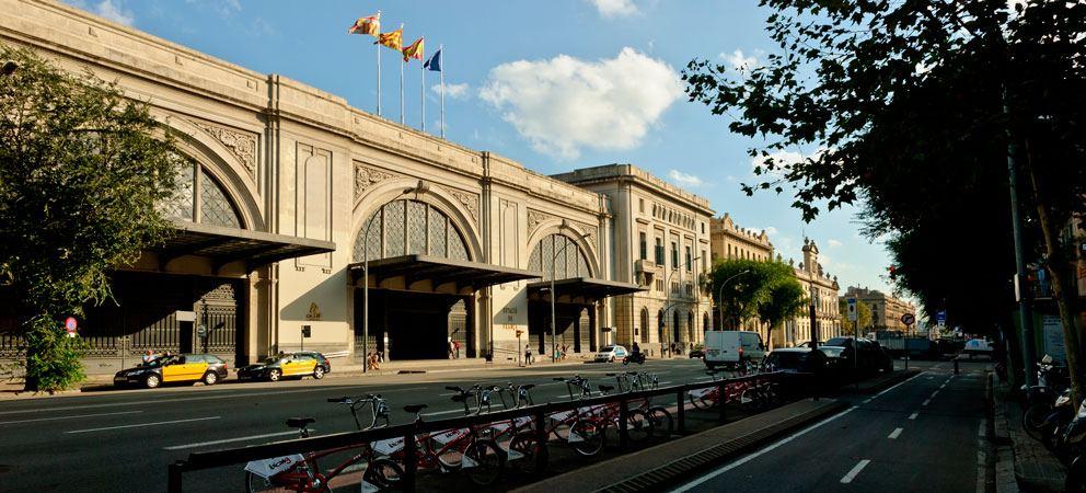 Donde se encuentra la Estacion de Francia de Barcelona