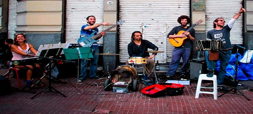 Pasear por la calle Florida de Buenos Aires