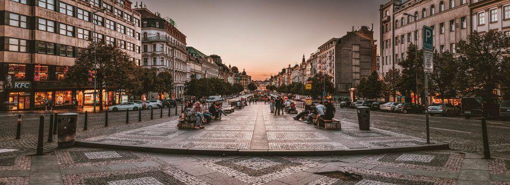 Plaza de Wenceslao de Praga