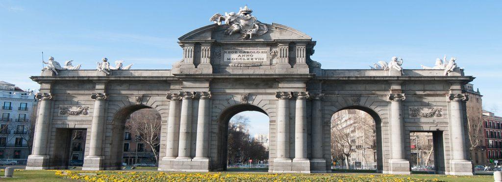 La Puerta de Alcalá en Madrid