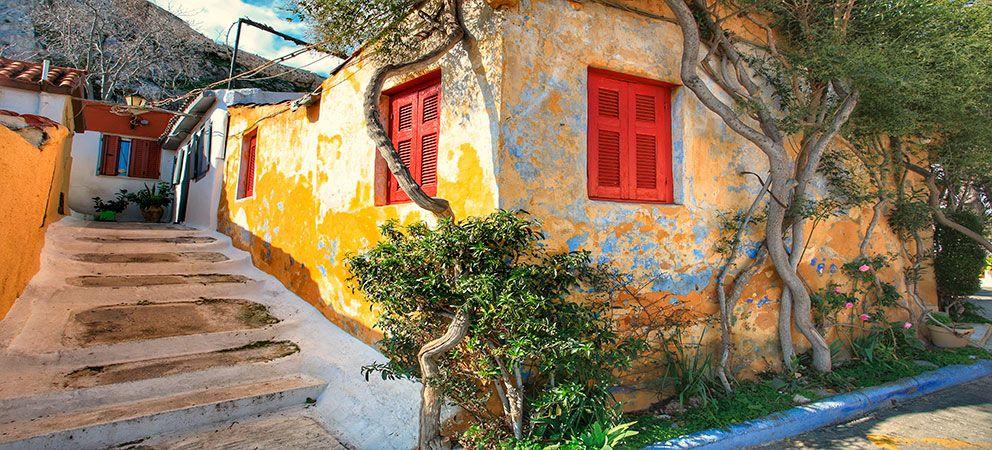Barrios de Atenas