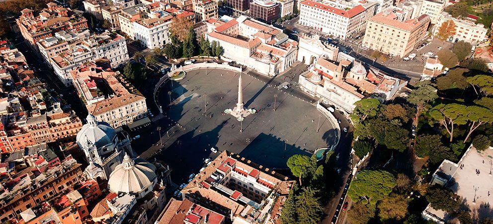 Visitar la Piazza del Popolo