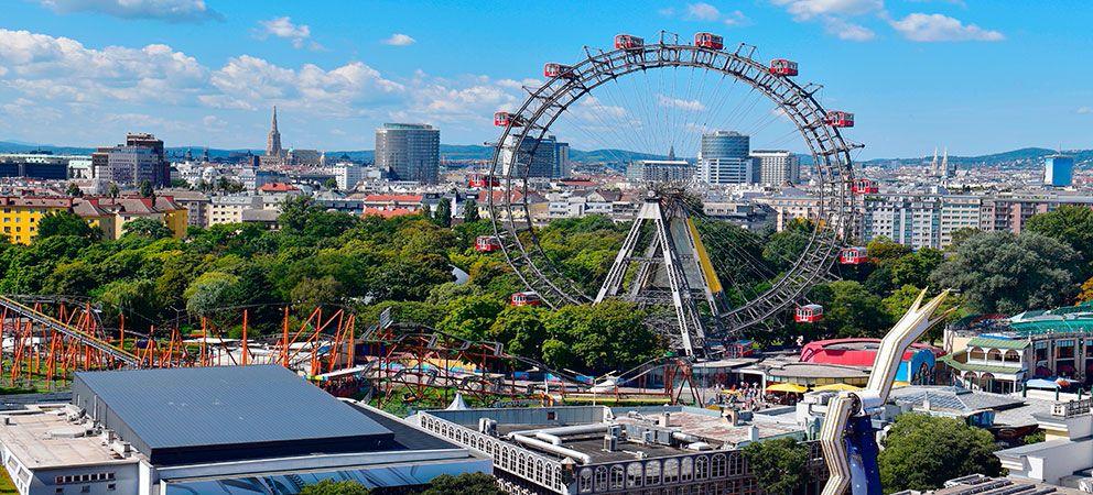Parque de atracciones en Viena