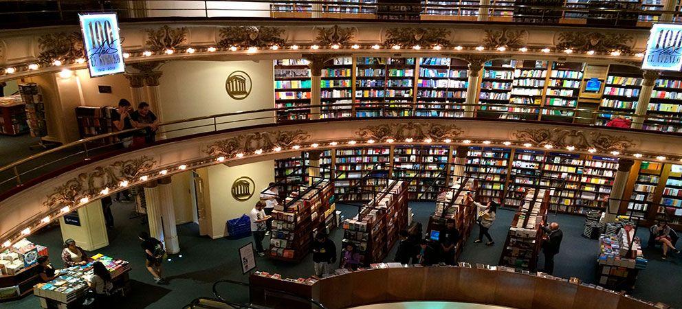 Visitar la libreria El Ateneo