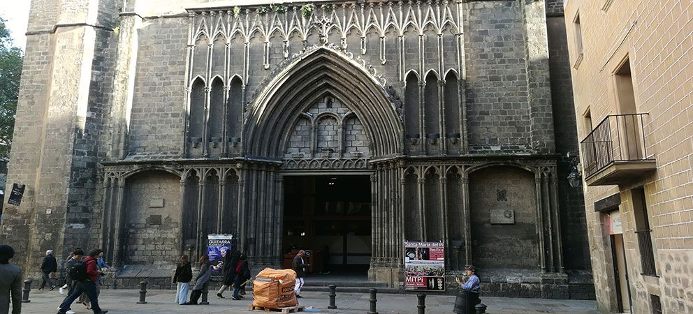 Conocer la Basilica de Santa Maria del Pi
