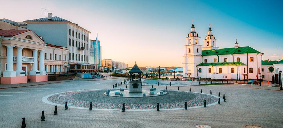 Como es la Catedral de Minsk