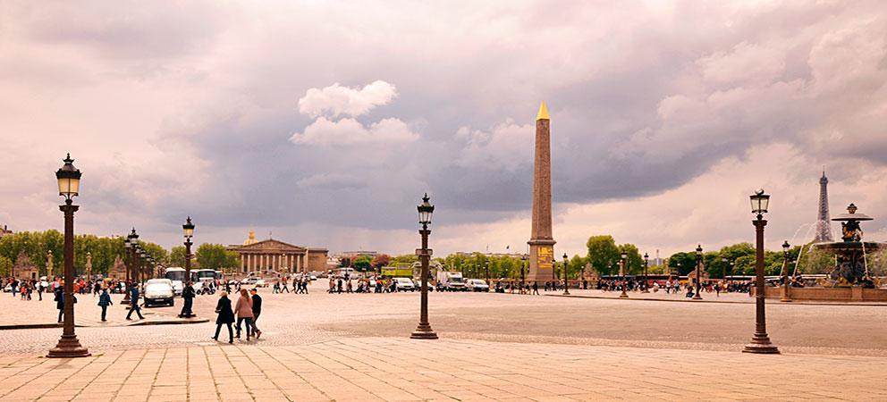 Como es el Obelisco de Paris