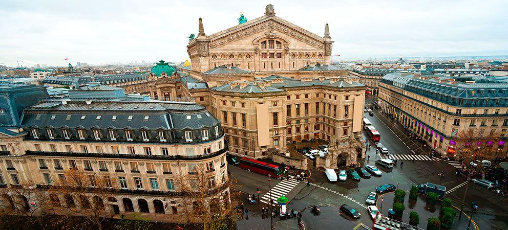 Visitar la Opera de Paris