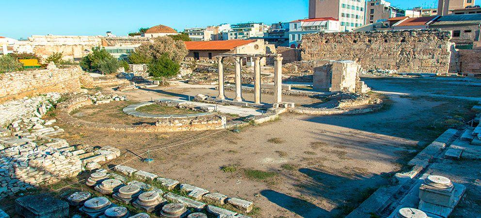 Visitar la Biblioteca de Adriano