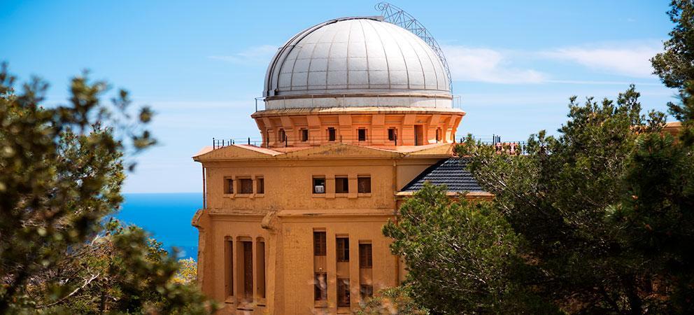 Visitar el Observatorio Fabra