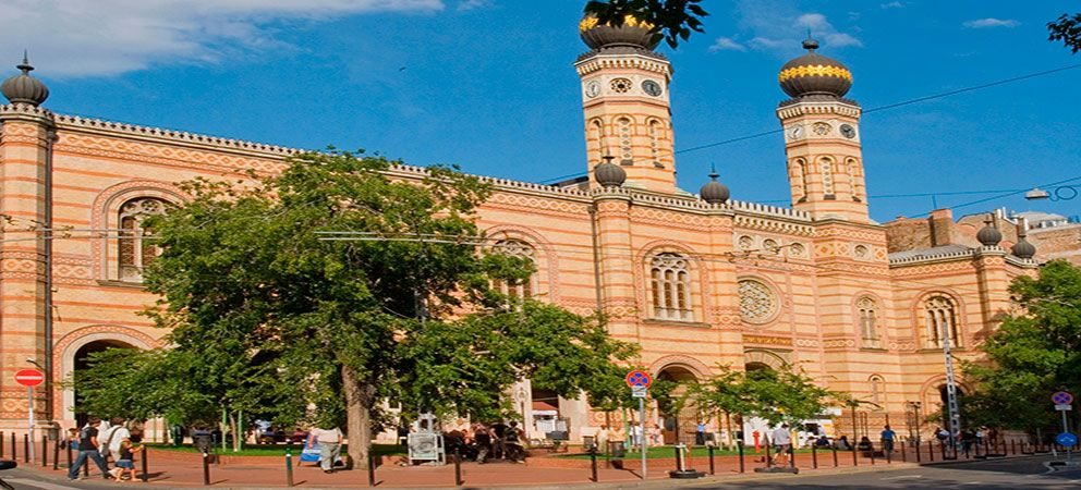 Como es la Gran Sinagoga de Budapest
