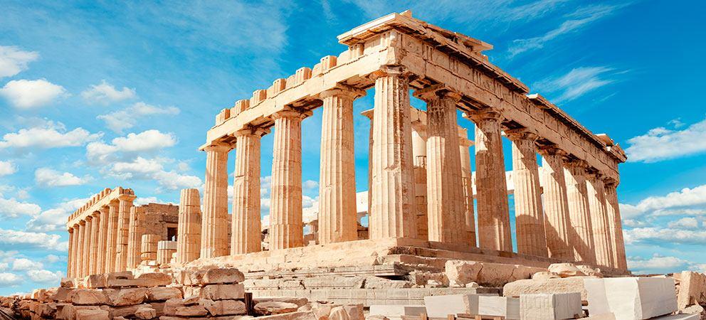 Visitar el Partenón en la Acrópolis