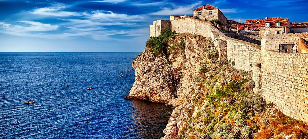 Pasear por las Murallas de Dubrovnik
