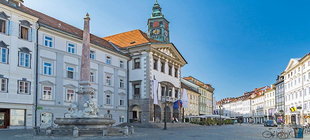 Visita el Ayuntamiento de Liubliana