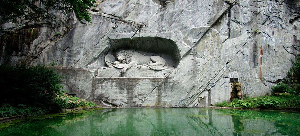 Visitar el Monumento del León