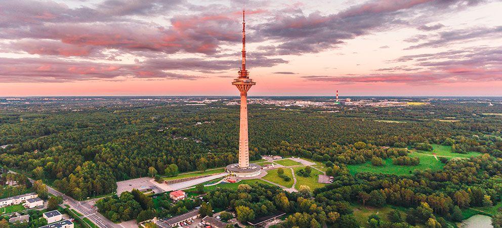 Subir a la Torre de Tallin
