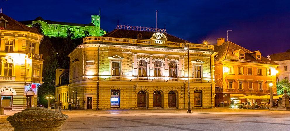Rutas turisticas en Liubliana